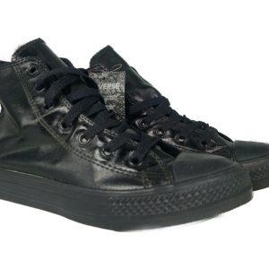 355558C Converse Chuck Taylor All Star High (Black) Preschool Shoes Size 12