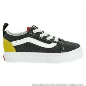 VN0A4TZOWK71 VANS Old Skool Elastic (Coastal) Toddler Shoes Size 9.5