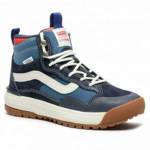 VN0A4UWJ2WI1 VANS UltraRange Exo Hi MTE (Navy / White) Men Sneakers Size 9