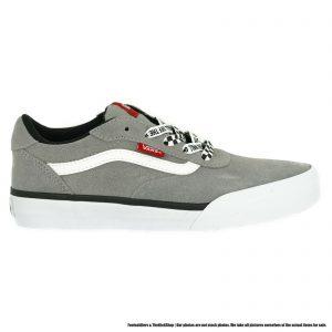 VN0A3WMXXYX1 VANS Palomar Checkered Laces (Gray) Gradeschool Shoe Size 4