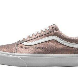 VN0A4BV5T611 VANS Old Skool (Rose Gold / White) Women Sneakers Size 8.5